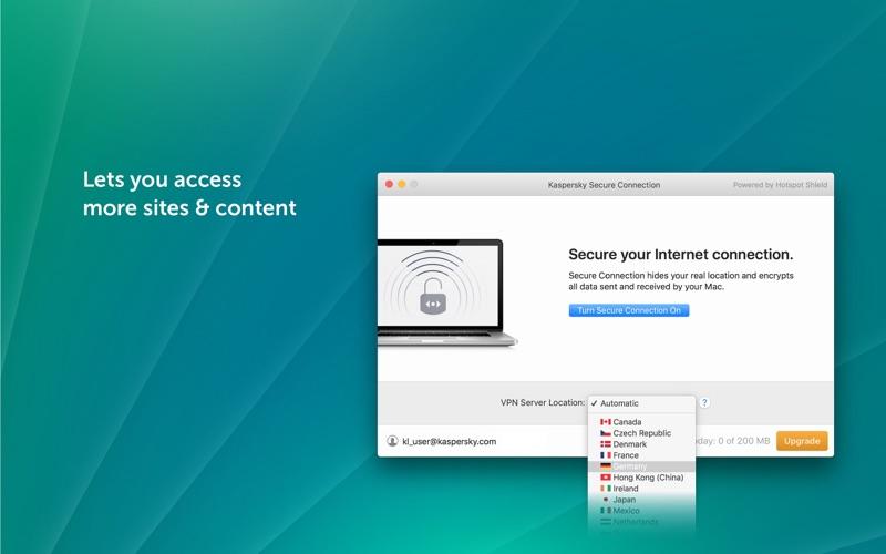 Kaspersky VPN Connection app