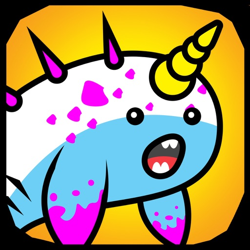 Narwhal Evolution -A Endless Clicker Monsters Game iOS App