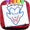 Sketch Drawing Vampires & Werewolf Pictures Free app free for iPhone/iPad