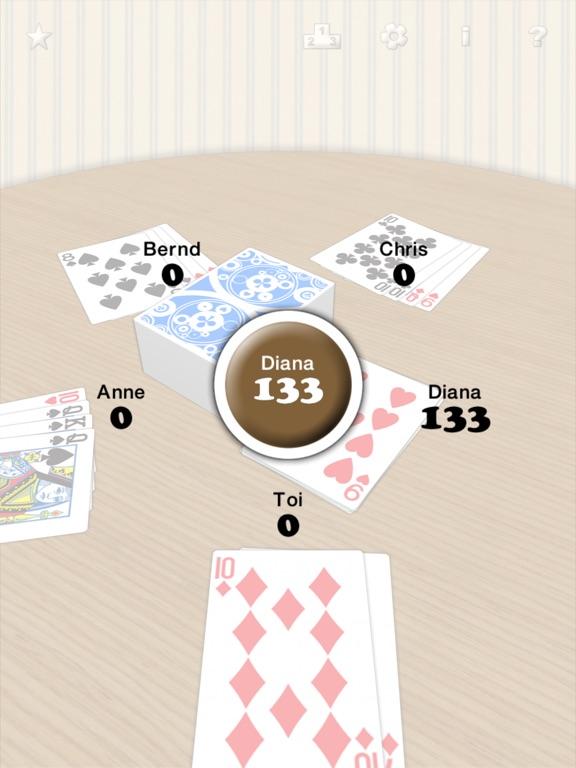 Mau-Mau Kartenspiel Screenshot