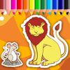 Free Lion And Mouse Coloring Book Game Wiki