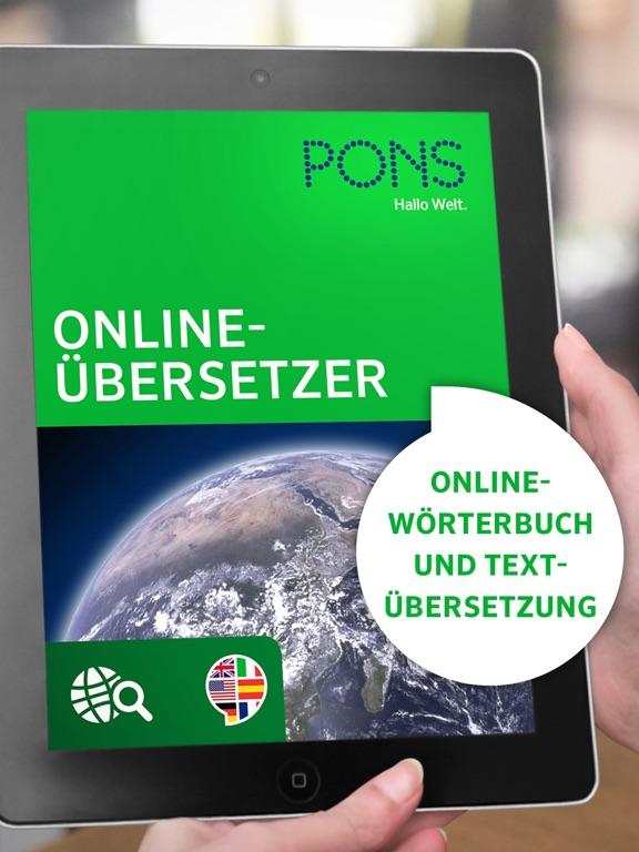 pons online bersetzer im app store On pons online übersetzer