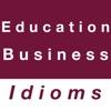 Education & Business idioms business education teks