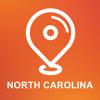 美国北卡罗莱纳州 - 离线车载GPS