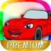 Autos Malbuch Spiele für Kinder zu malen - Pro
