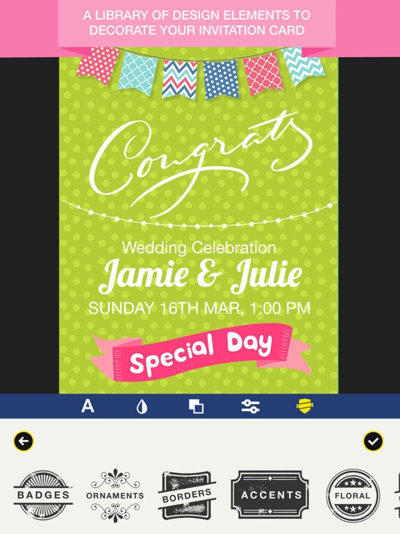 Invitation Maker Invite Maker on the App Store – Invite Card Maker