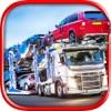Car Transport Truck Parking
