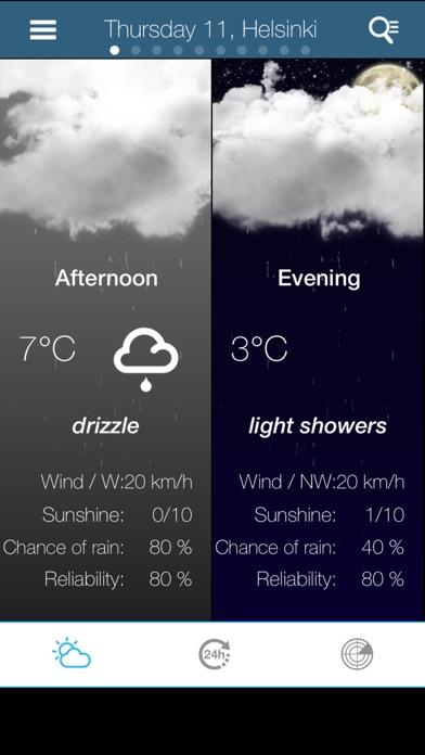 Погода в ФинляндииСкриншоты 2