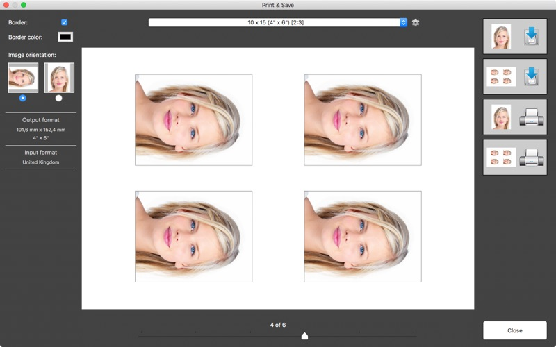 Passport Photo Screenshots
