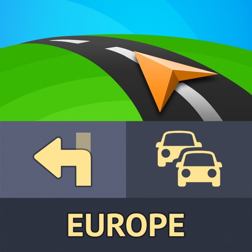 Sygic Europe: GPS Navigation, TomTom Offline Maps App Ranking & Review