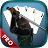 Ultimate Blazing Ninja Addicting Solitaire Pro