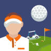 A Golf Ball Crashes With Obstacles App
