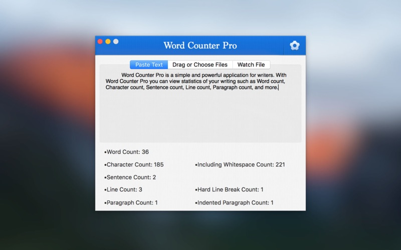 Word Counter Pro Screenshots