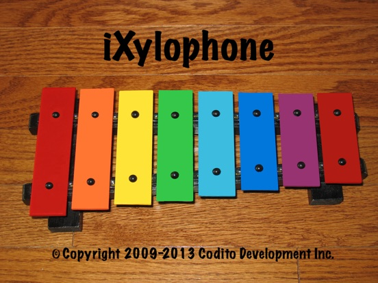 Screenshot #1 for iXylophone - Play Along Xylophone For Kids