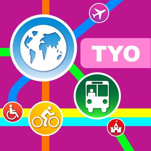 东京(日本)地图 – 下载地铁、铁路线路图和旅游指南