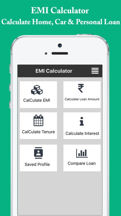 EMI Calculator Easy EMILoanInterest Calculator by divya mehta – Loan Interest Calculator