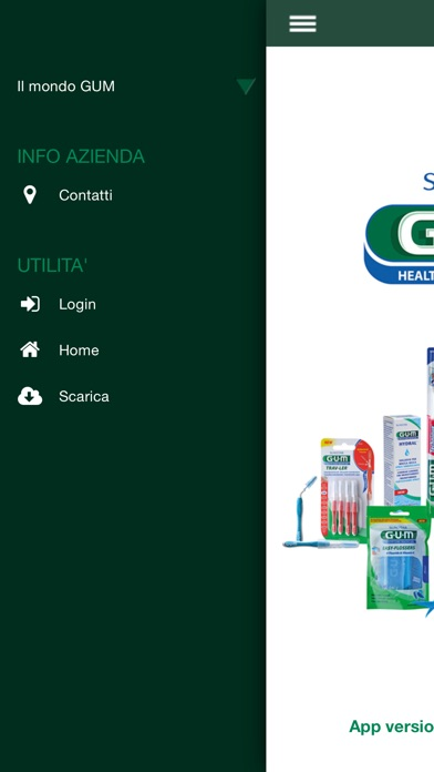 Screenshot of Prodotti GUM2
