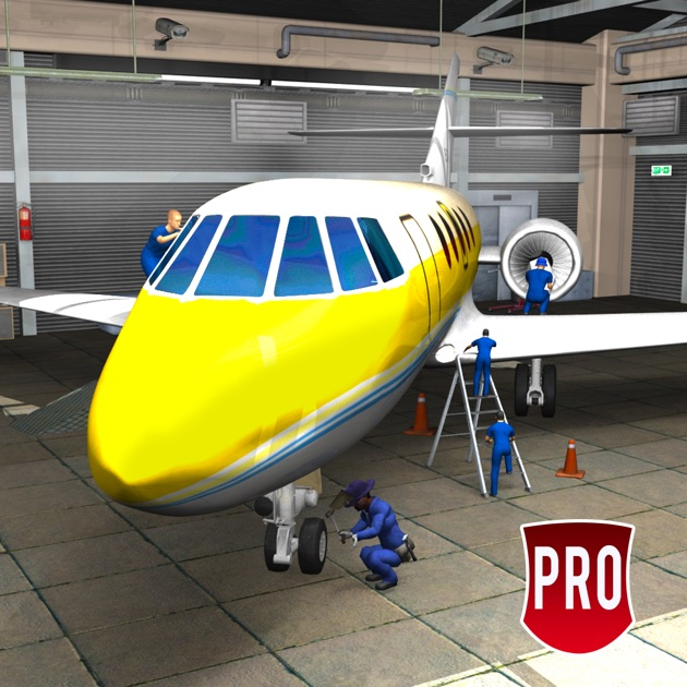 Avion m canicien simulateur pro atelier garage 3d dans l for Application iphone pour ouvrir porte garage