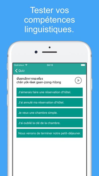 Le Thai Facile - Apprendre le Langue ThaïeCapture d'écran de 4