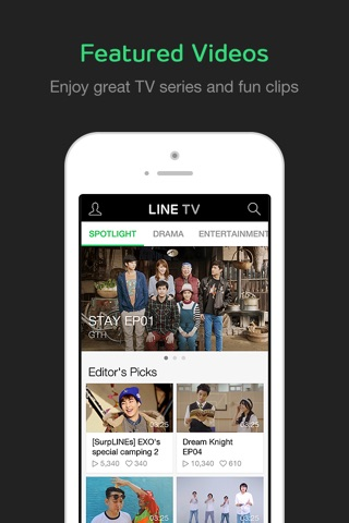 Download LINE TV app for iPhone and iPad