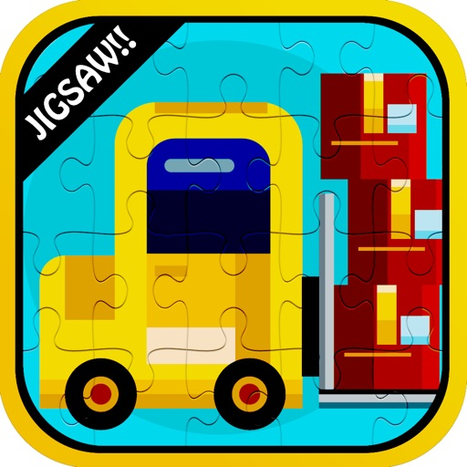 Color Vehicles Jigsaw Puzzle Games App Ranking & Review