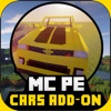 Cars Addons Maps for Minecraft - Pocket Edition PE minecraft pocket edition