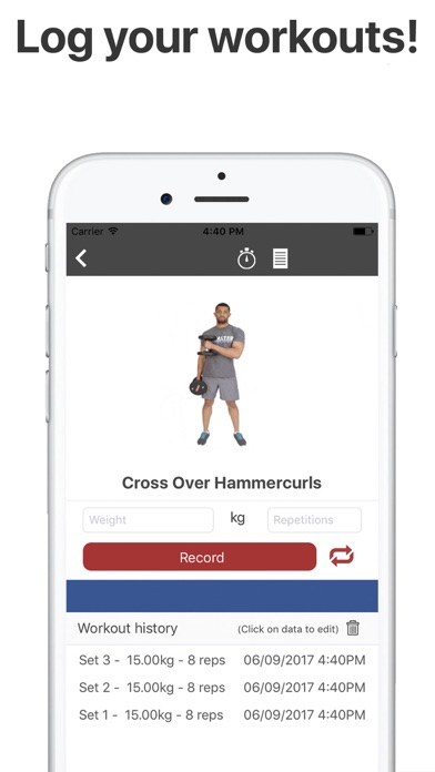 Screenshot #5 for Gymster - Gym Workouts & Diet