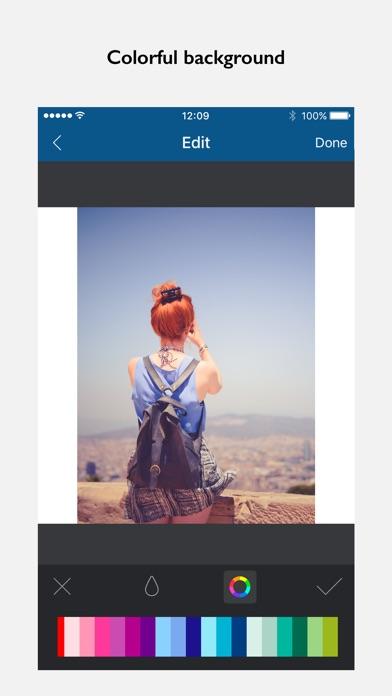 Screenshot of InFrame - Editor di fotos2