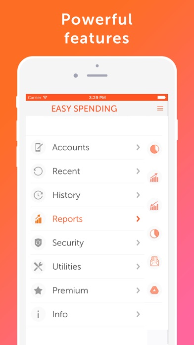 Screenshot #9 for Easy Spending - Money tracker, Budget Planner