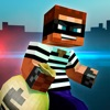 Robber Race Escape — Blocky Police Car Chase Endless Runner