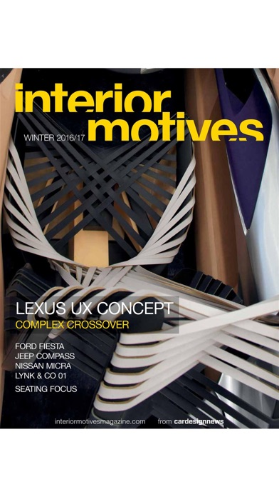 Car Design News Interior Motives Magazine review screenshots