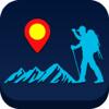 Reise Höhenkarte, zum Klettern und Wandern