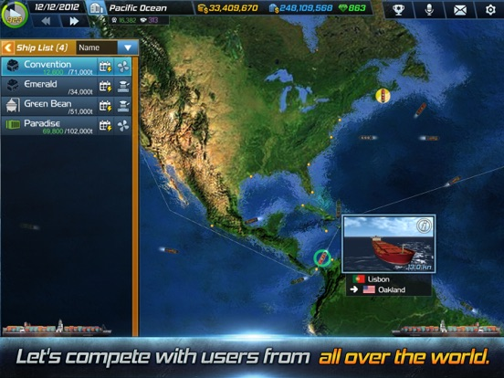 Screenshot #2 for Ship Tycoon