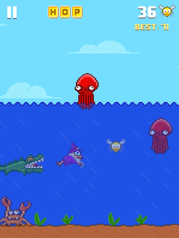 Screenshots of Hoppy Frog 2 - City Escape for iPad