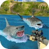 Sniper Shark Shoot 3D