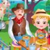 可愛榛果寶貝的農場之旅
