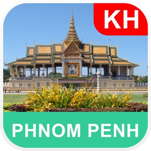 柬埔寨金边 离线地图 – PLACE STARS