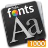 macFonts 1000 Orange