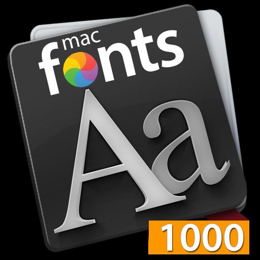 macFonts 1000 Orange