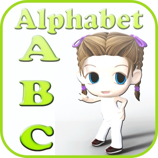 a to z alphabet flash cards kids 2 - 4 years old
