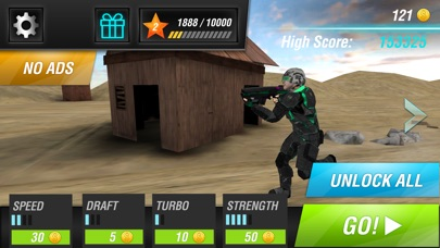 Screenshot #4 for Evil Force: Soldiers vs Monsters