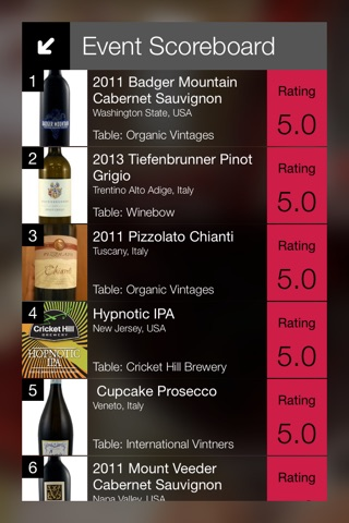 Winevento - the wine event app screenshot 2