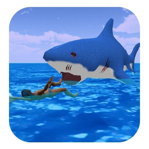 Angry Hunting Shark - hungry fish at killer Beach iOS App