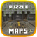 MAPS FOR MINECRAFT - PUZZLE FOR PE POCKET EDITION