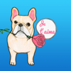 Romantic French Bulldog Sticker Wiki