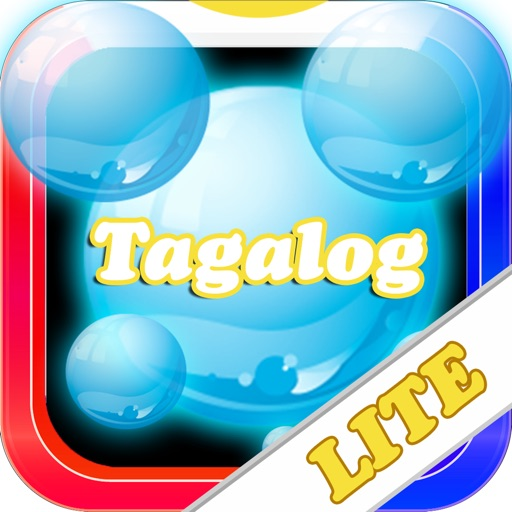 Tagalog Bubble Bath: Learn Filipino Game Free iOS App