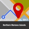 Northern Mariana Islands Offline Map and Travel map of northern india