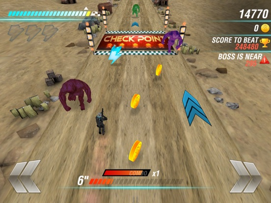 Screenshot #2 for Evil Force: Soldiers vs Monsters