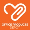 Office Products Depot projector screen office depot