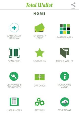 Total Wallet - Mobile Digital Wallet Technology screenshot 2